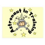 Astronaut in Training Tshirts and Gifts Postcard