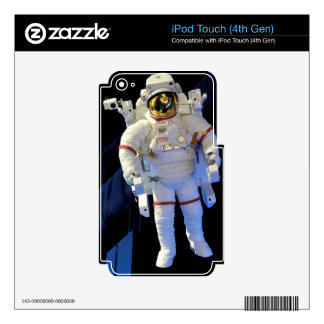 Astronaut iPod Touch 4G Skin