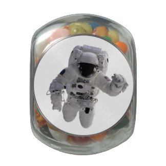 Astronaut Jelly Belly Candy Jars