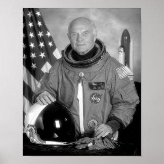 Astronaut John Glenn Posters