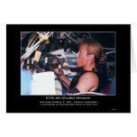 Astronaut Kathryn P. Hire on STS-90 Card