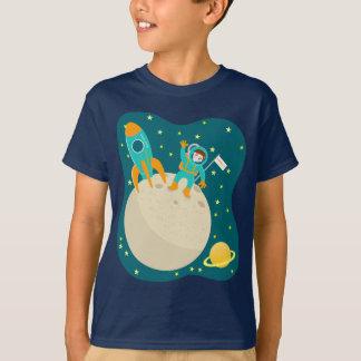 Astronaut kid birthday party T-Shirt