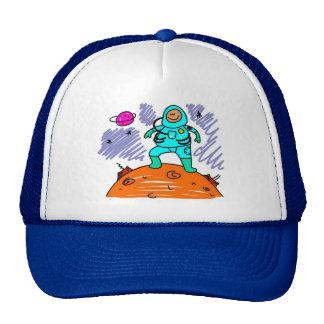 Astronaut Kid Mesh Hats