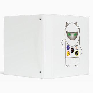 Astronaut Kitty Binder