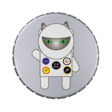 Astronaut Kitty Cat Jelly Belly Tins