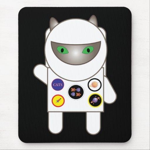 Astronaut Kitty Mousepad