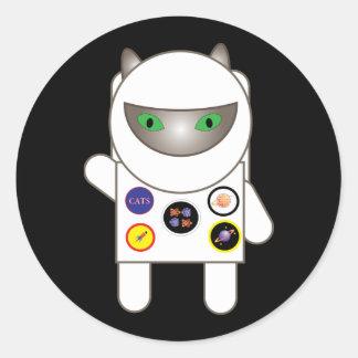 Astronaut Kitty Sticker
