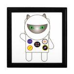 Astronaut Kitty Trinket Box
