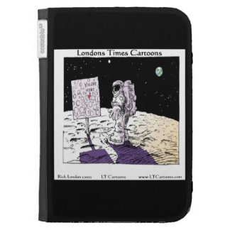 Astronaut Lost On Moon Funny Kindle Cover