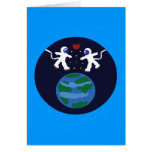 Astronaut Love Greeting Card