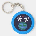 Astronaut Love Key Chains