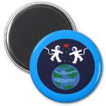 Astronaut Love Magnets