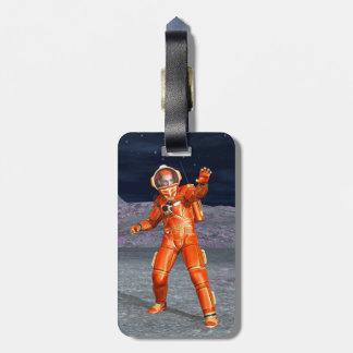 Astronaut Luggage Tag