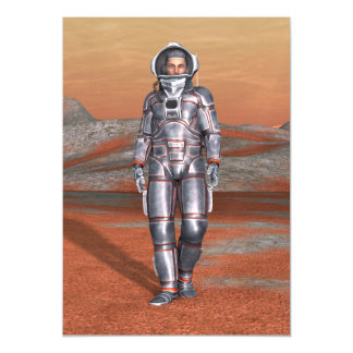 Astronaut Magnetic Card
