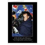 Astronaut Mamoru Mohri  Greeting Card