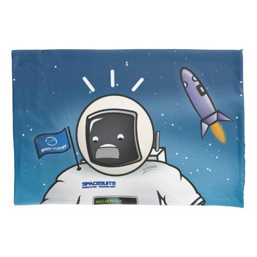 Astronaut Max McReady Pillow Case