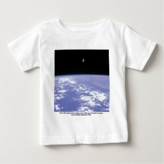 Astronaut McCandless Free Flying with Jetpack Baby T-Shirt