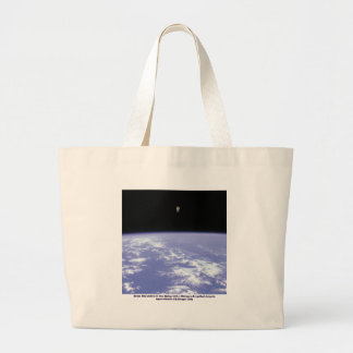 Astronaut McCandless Free Flying with Jetpack Canvas Bags