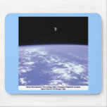 Astronaut McCandless Free Flying with Jetpack Mouse Pad