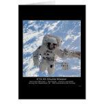 Astronaut Michael L Gernhardt EVA – STS-69 Shuttle Card