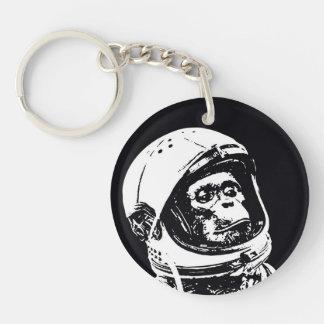 Astronaut Monkey Keychain