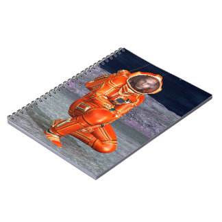 Astronaut Spiral Notebooks