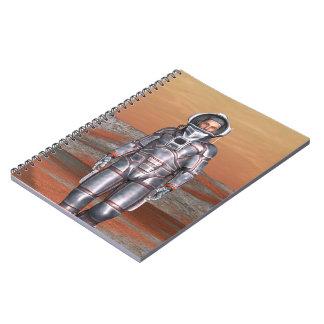 Astronaut Spiral Note Books