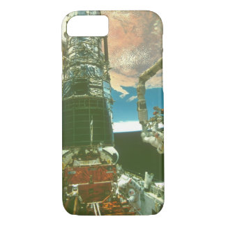 Astronaut on arm._Space iPhone 7 Case