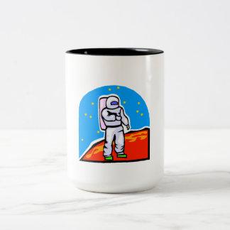 Astronaut On Mars Coffee Mug