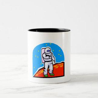 Astronaut On Mars Mug