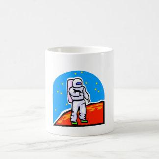 Astronaut On Mars Coffee Mugs