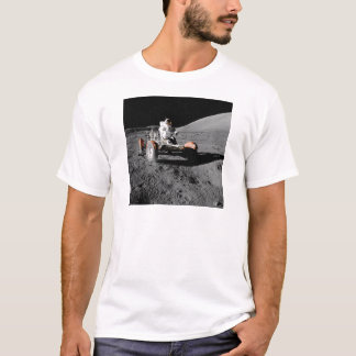Astronaut on Moon Rover During Apollo 17 Mission T-Shirt