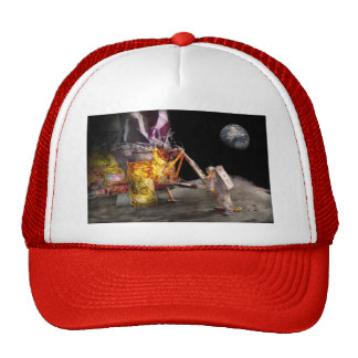 Astronaut - One small step Trucker Hat