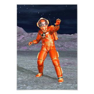 Astronaut Photo Print