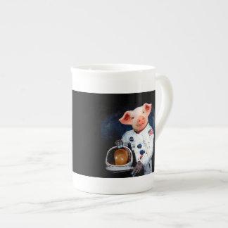 Astronaut pig - space astronaut tea cup