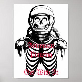 Astronaut Pimping Poster
