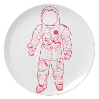 Astronaut Dinner Plates