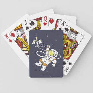 Astronaut Playing Cards