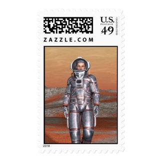 Astronaut Postage