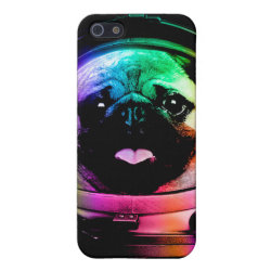 Case Savvy iPhone 5 Matte Finish Case with Pug Phone Cases design