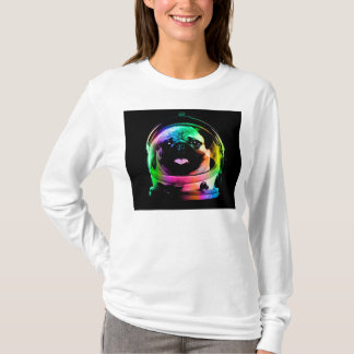 Astronaut pug - galaxy pug - pug space - pug art T-Shirt