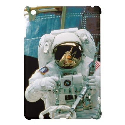 Astronaut Repairing Hubble Cover For The iPad Mini
