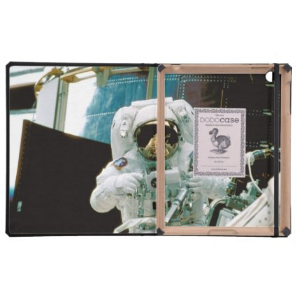 Astronaut Repairing Hubble iPad Covers