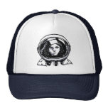 Astronaut rocks! trucker hat