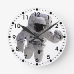 Astronaut Round Clocks