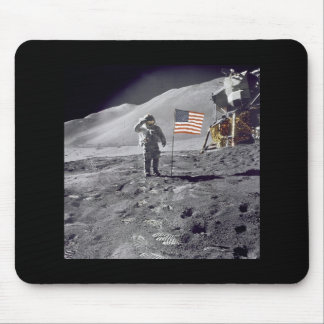 astronaut salute mousepads