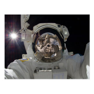Astronaut selfie II Postcard