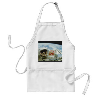 Astronaut Sells Earth Adult Apron