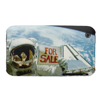 Astronaut Sells Earth Case-Mate iPhone 3 Case