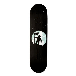 Astronaut Silhouette Skateboard Deck